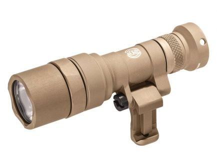Surefire Mini Scout Light Pro 500 Lumen Picatinny Rail Weapon Light, Tan