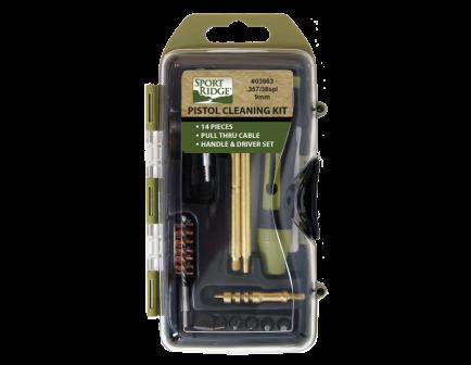 Sport Ridge 38/357/9MM Pistol Cleaning Kit - 03963