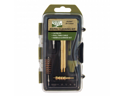 Sport Ridge 45 Caliber Pistol Cleaning Kit - 03964