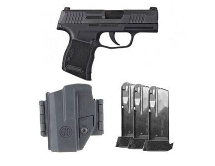 Sig Sauer P365 TACPAC 9mm Pistol, Night Sights - 365-9-BXR3-TACPAC