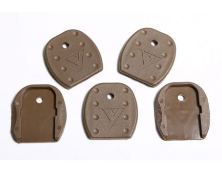 Vickers Floor Plate for Glock Tan--VTMFP-001-BRN
