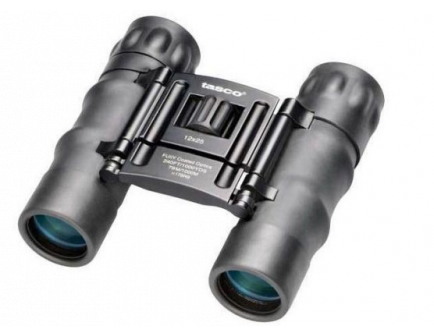 Tasco Essentials 12x25mm Roof Prism Binoculars - 178RBD