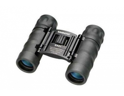 Tasco Essentials 8x21mm Roof Prism Binoculars - 165RB