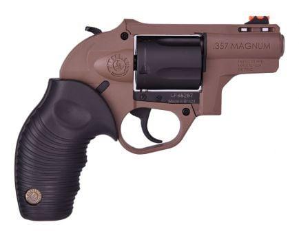 "Taurus 605 Protector 2"" .357 Magnum Revolver, Coyote Brown"