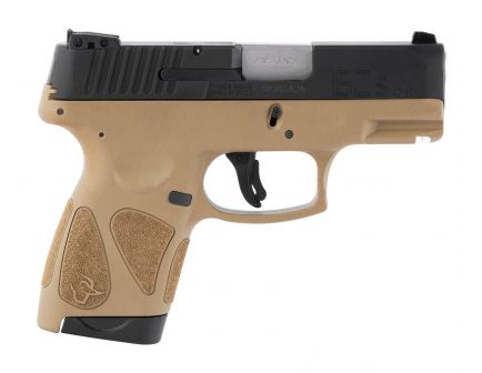 Taurus G2S Compact .40 S&W Pistol, Tan - 1-G2S4031T