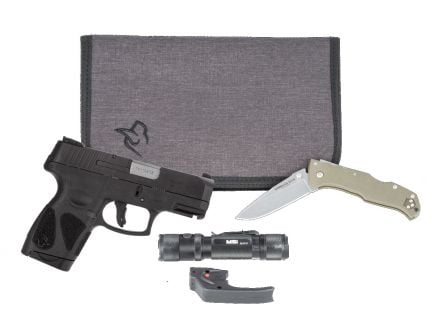 Taurus G2S 9mm Pistol With Carry Pack, Black