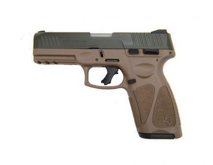 Taurus G3 Full Size 9mm Pistol   FDE/Green