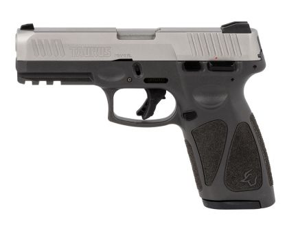 Taurus G3 9mm Pistol, Gray Frame Stainless Slide