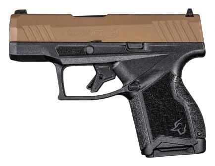 Taurus GX4 9mm Pistol, Black/Coyote