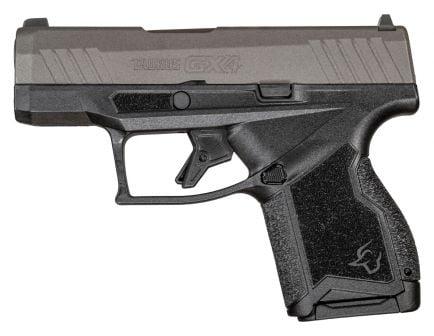 Taurus GX4 9mm Pistol, Black/Tungsten