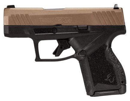 Taurus GX4 9mm Pistol, Midnight Bronze/Black