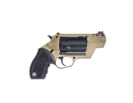Taurus Judge Public Defender .410/45 Colt Revolver, FDE