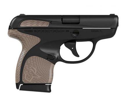 Taurus Spectrum .380 ACP Pistol, Black on Black Finish with FDE Overmold - 1007031119