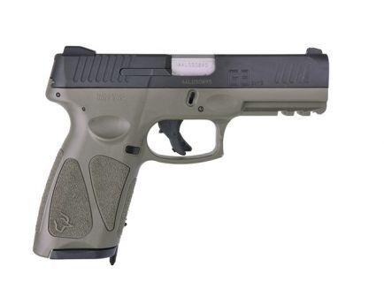 Taurus G3 9mm Semi Automatic Pistol, OD Green - 1-G3941O