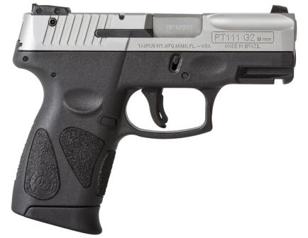 Taurus PT111 Millennium G2 9mm Pistol, Stainless Steel