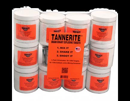 Tannerite 1/2lb Target - 10 - 1/2 lb Targets  - 1/2PK10