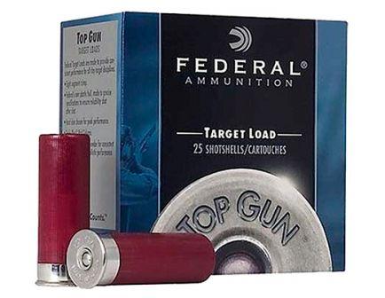 """Federal 12ga 2.75"""" 7/8ox #8 Extra Lite Top Gun Shotshell Ammunition 25rds - TG12EL 8"""