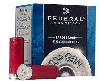 """Federal 12ga 2.75"""" 1-1/8oz #7 Steel Shot Top Gun Shotshell Ammunition 25rds - TG147 7"""