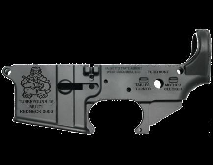 "PSA ""TURKEYGUNR-15"" AR-15 Stripped Lower Receiver"