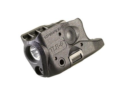 Streamlight TLR-6: Gun-Mounted Tactical LED Light W/Red Laser for Glock 26/27/33
