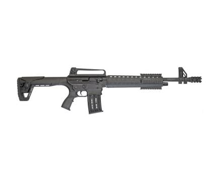 TR Imports Silver Eagle TAC-LC Semi Auto 12 Gauge Shotgun With Breacher, Black
