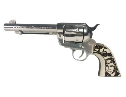 Traditions 1873 Trump Single Action .45 LC Revolver, Nickel