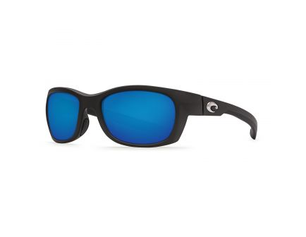 Costa Trevally Black Frame Blue Mirror 400G Lens - GT 11 BMGLP
