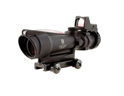 Trijicon ACOG 3.5x35 .223 MOA Reticle Red Dot Sight With Type 2 RMR, Black