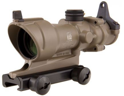 tritium acog 4x32 rifle scope
