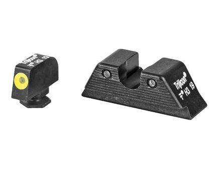 Trijicon HD XR Night Sights Standard Glocks MOS, Yellow Front - GL614-C-601091