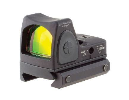Trijicon RMR Type 2 Red Dot Sight With Picatinny Rail Mount, Black