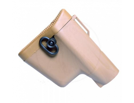 Coyote Tan Troy Battle AX CQB AR-15 Stock