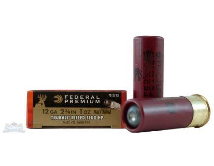 """Federal 12ga 2.75"""" 1oz Truball HP Vital-Shok Shotshell Ammunition 5rds - PB127 RS"""