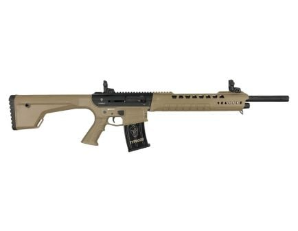 Typhoon Defense X-12 Semi Automatic AR 12 Gauge Shotgun, FDE