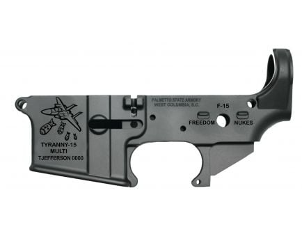 """PSA AR-15 """"Tyranny-15"""" Stripped Lower Receiver *Pre-Order Item - Ships in Approximately 12 Weeks"""