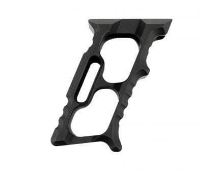 DISC   Tyrant CNC HALO AR MiniVert Vertical Foregrip (MLOK+KeyMod), Black  -  TD-552-MK