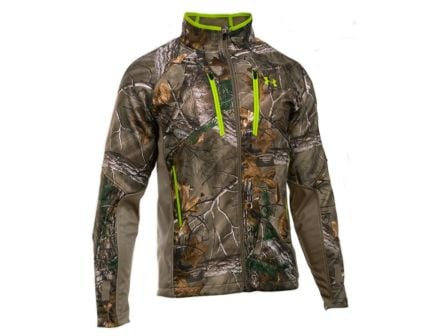 Under Armour Storm Scent Control Softshell Jacket, Realtree Xtra (Front)