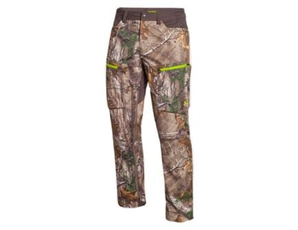 Under Armour Men's Storm Scent Control Softershell Pants, Realtree Xtra (Front)