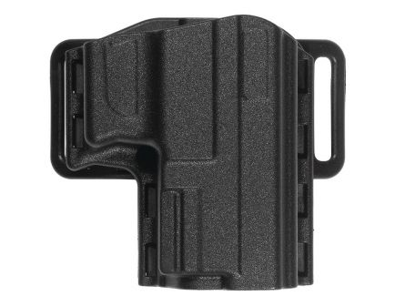 """Uncle Mike's Reflex Open Top 4"""" 1911 RH OWB Holster, Black"""