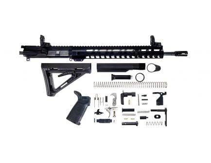 "PSA 16"" Mid-Length Pencil 5.56 NATO 1/7 Nitride 13.5"" Lightweight M-Lok MOE EPT Rifle Kit w/ MBUS Sight Set"