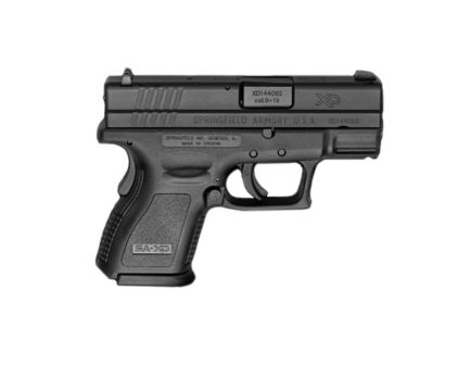 Springfield Armory XD9 Essentials Package 9MM 3'' BLACK – XD9801HC