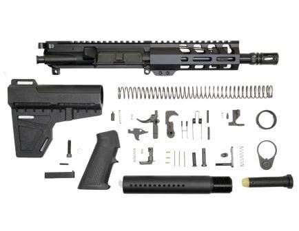 "PSA 7.5"" 300AAC Blackout 1/7 Nitride 6"" Lightweight M-Lok Classic Shockwave Pistol Kit"