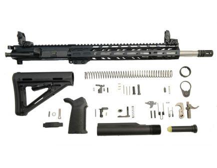 "PSA 16"" Mid-Length 5.56 NATO 1:8 Stainless Steel 13.5"" Lightweight M-Lok MOE EPT Rifle Kit w/MBUS Sight Set"