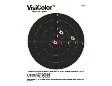 "Champion VISICOLOR, 8"" BULLS(10/PK) 45824"
