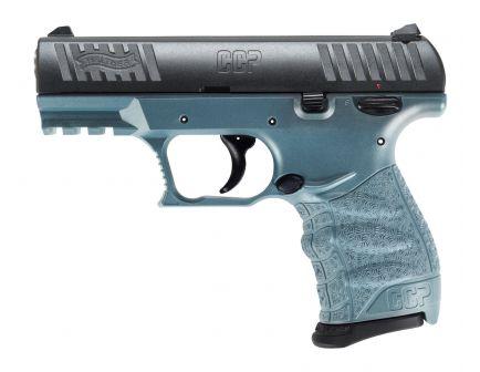 Walther CCP M2 9mm Pistol, Blue Titanium