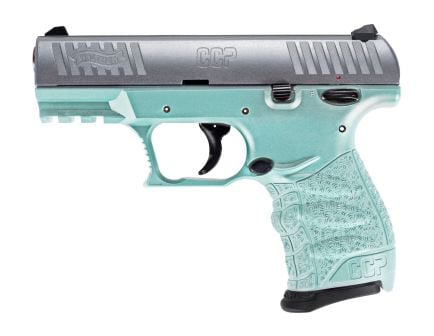 Walther CCP M2 9mm Pistol, Angel Blue