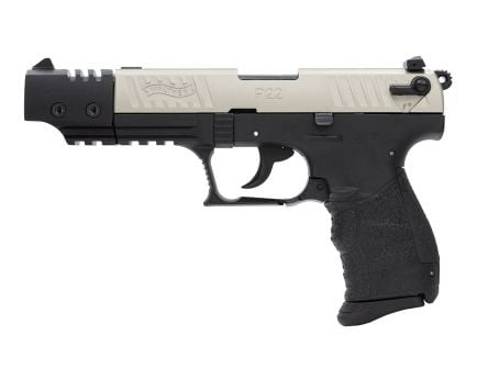 Walther P22 Target .22 LR Pistol, Two Tone