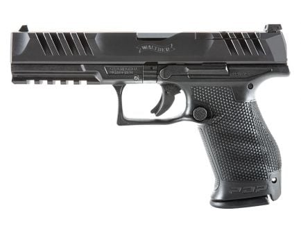 Walther PDP Compact 9mm Optic Ready Pistol, Black