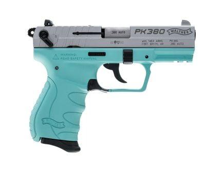 Walther PK380 .380 ACP Pistol, Angel Blue - 5050325
