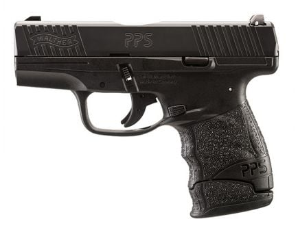 Walther PPS M2 9mm Pistol, Black